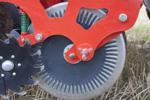 Front cutting disc